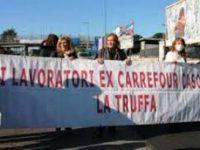 Lavoratori ex Carrefour: nuovo presidio previsto mercoledì.