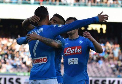 Il Napoli chiude il campionato con una vittoria e il record di punti.