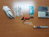 Carabinieridelle Stazioni di Casoria e Casavatore arrestano 16enne e denunciano la madre. Nella casa dei 2 c'erano 155 grammi di hashish