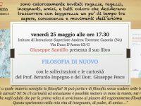 Presentazione del libro 'Filosofia di nuovo' all' Istituto di Istruzione Superiore 'Andrea Torrente'