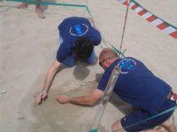 Sulla spiaggia di Palinuro, il primo nido di Caretta caretta della stagione