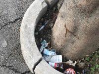 Siringhe abbandonate un strada a Casoria, continuano le segnalazioni