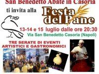 Festa del pane a Casoria 2018