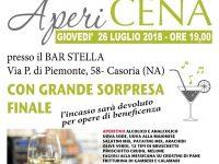 """Apericena di Beneficenza: l'associazione """"Per la Vita"""" invita i casoriani a partecipare in massa"""