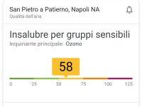 Quasi il 60% di gas inquinanti nell'aria di Casoria, il rischio è alto!