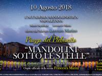 Concerto per mandolini nella notte di San Lorenzo. Venerdì 10 agosto ore 22.00 Piazza del Plebiscito
