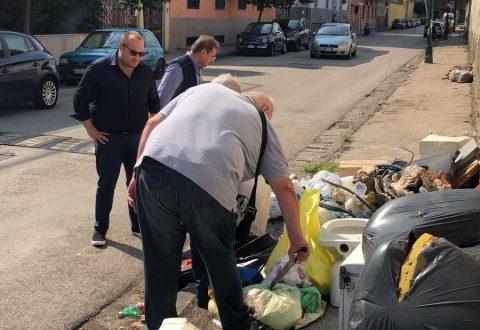 Riceviamo e pubblichiamo: il sindaco e l'assessore Ricciardi impegnati a liberare il comune dagli ingombranti
