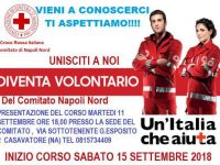 Croce Rossa Italiana. Corso di volontariato del Comitato di Napoli Nord