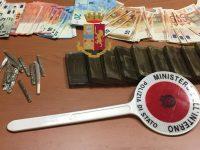 Afragola: Polizia di Stato arresta spacciatore e sequestra circa 900 grammi di droga
