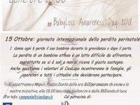 15 Ottobre: giornata internazionale della perdita perinatale