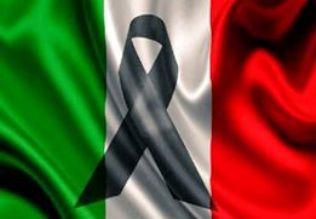 Risultato immagini per lutto italia