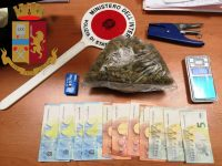 Casoria: Polizia di stato arresta spacciatore 32enne