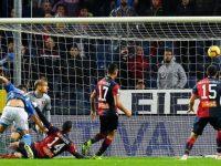 Genoa-Napoli: 1-2. Il Napoli espugna Marassi, dopo la sospensione per pioggia