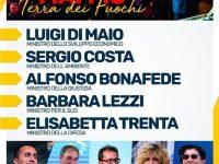 Mai più terra dei fuochi! L' evento organizzato dal Movimento 5 Stelle in difesa del territorio campano, presente Casoria!