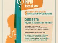"""""""Per un battito in più…"""" il nuovo appuntamento dell'Orchestra Giovanile Orpheus Sabato 8 Dicembre alle 18,30 presso la Basilica di San Giovanni Maggiore (Napoli)"""