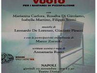 """Serata d'autore: Maurizio De Giovanni al Teatro Diana per la presentazione di  """"Vuoto"""""""