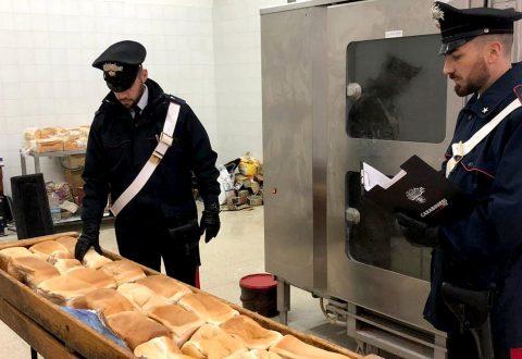 Arpino di casoria: carabinieri scoprono panificio abusivo. denunciato nigeriano, sequestrati 150 kg di pane potenzialmente nocivo per la salute