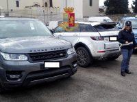Polizia blocca tre persone nella vicina Volla e ne denuncia altre due e recupera due Ranger Rover  Ricettazione auto da esportare illegalmente in Africa
