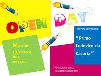 I.C. Primo Ludovico da Casoria: Open Day il 19 Dicembre alle ore 17.00