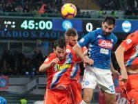 Napoli-Spal 1-0, ora il Napoli può pensare al Natale