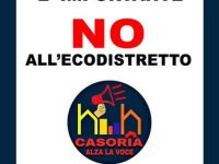 """Casoria continua a dire """"No"""" all'ecodistretto: partita oggi la raccolta firme"""
