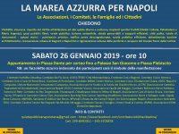 La marea azzurra per Napoli. Tutti uniti per chiedere ciò che spetta di diritto alla città!