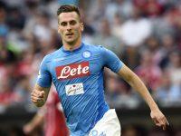 Napoli-Lazio: 2-1. Milik protagonista 1 gol e due pali per lui