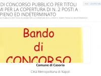 Comune di Casoria: in scadenza concorso per due contabili.