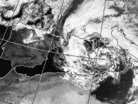 Meteo: la morsa del gelo e della pioggia su Napoli