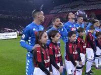 Milan-Napoli, il primo round termina 0-0