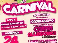 A Casalnuovo il 24 febbraio il primo Carnevale con carri allegorici