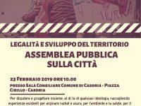 Legalità e sviluppo del territorio!  L' assemblea pubblica contro le mafie nel comune di Casoria!