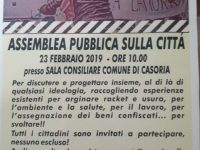 Legalità e sviluppo del territorio, l' assemblea pubblica che rende protagonista la città di Casoria