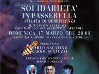 """""""Solidarietà in Passerella"""".  L' evento solidale organizzato dall' Associazione Evento Moda della stilista Patrizia Minini!"""