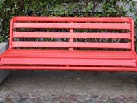 """La """"Panchina Rossa"""" approda a Casoria: come da noi annunciato, il grande evento è coinciso, non a caso, con l'inizio della primavera!"""