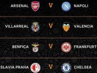 Europa League: Il Napoli pesca l'Arsenal