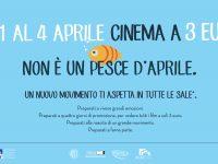 Cinema a tre euro: la grande iniziativa del famigerato cinema Happy, dall'1 al 4 aprile