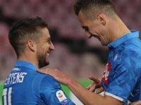 Il Napoli cala il poker all'Olimpico. Roma-Napoli:1-4