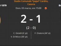 Il Casoria torna alla vittoria dopo 4 turni, Barano battuto 2-1