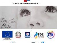 """Casalnuovo di Napoli: parte Scuola di Comunità con il progetto """"Con i tuoi occhi""""."""