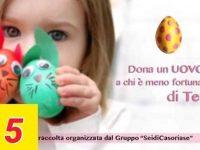 Casoria: dona un uovo a chi e' meno fortunato di te