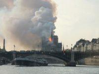 Parigi: Impressionante incendio alla Cattedrale di Notre Dame