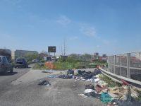 Operazione di contrasto ai rifiuti a Nord di Napoli