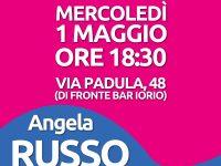 Angela Russo: Sindaco per Casoria  L' apertura del comitato in Via Padula 48