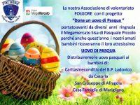 """""""Dona un uovo di Pasqua"""": i bambini prima di tutto"""