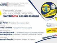Casoria: Presentazione dei candidati Cambiamo Casoria insieme