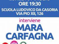 Casoria: la campagna elettorale di Angela Russo con l'intervento di Mara Carfagna