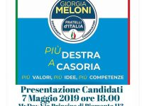 """Presentazione Candidati Fratelli d'Italia al """"My Day"""""""