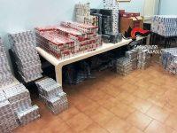 """Afragola: carabinieri arrestano 18enne. Stava spostando 334 kg di sigarette dalla """"base di appoggio"""""""