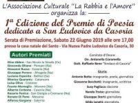 Casoria: premio  di  poesia dedicato a San Ludovico da  Casoria